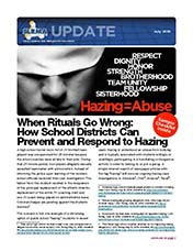 2019 Q2 SLRMA Newsletter - When Rituals Go Wrong How School Districts Can Prevent and Respond to Hazing