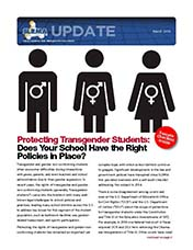 2018 Q1 SLRMA Newsletter - Protecting Transgender Students: Does Your School Have the Right Policies in Place?