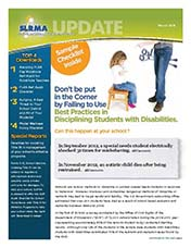 2013 Q1 SLRMA Newsletter - Disciplining Students with Disabilities
