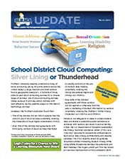 2014 Q1 SLRMA Newsletter - School District Cloud Computing: Silver Lining or Thunderhead