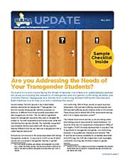 2014 Q2 SLRMA Newsletter - Are you Addressing the Needs of Your Transgender Students?