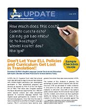 2015 Q2 SLRMA Newsletter - Don't Let Your ELL Policies and Curriculum Get Lost in Translation!!