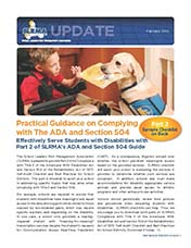 2016 Q1 SLRMA Newsletter - Practical Guidance on Complying with The ADA and Section 504 Part II