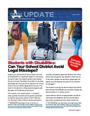 2018 Q2 SLRMA Newsletter - Students with Disabilities: Can Your School District Avoid Legal Missteps?