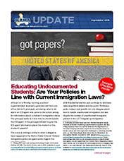 2018 Q3 SLRMA Newsletter - Educating Undocumented Students: Are Your Policies in Line with Current Immigration Laws?